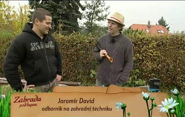 Namir David radí ohledně štípače dřeva